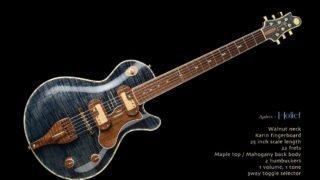 JERSEY-GIRL-homemade-guitars-Audley-holiet