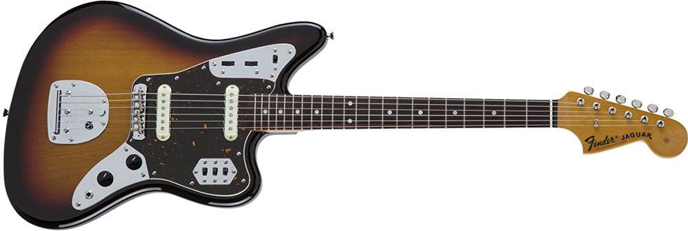 オフセットギターのジャガー