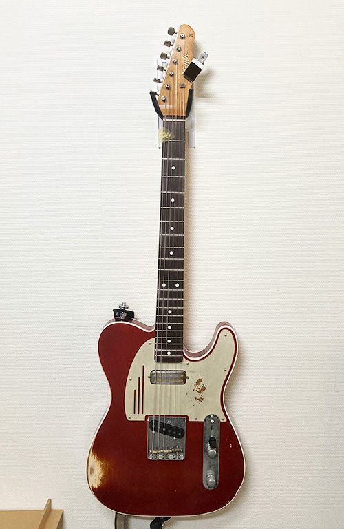 壁美人ギターヒーローにテレキャスターを設置