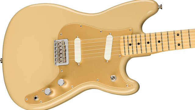 Fenderのギター・duo-sonic