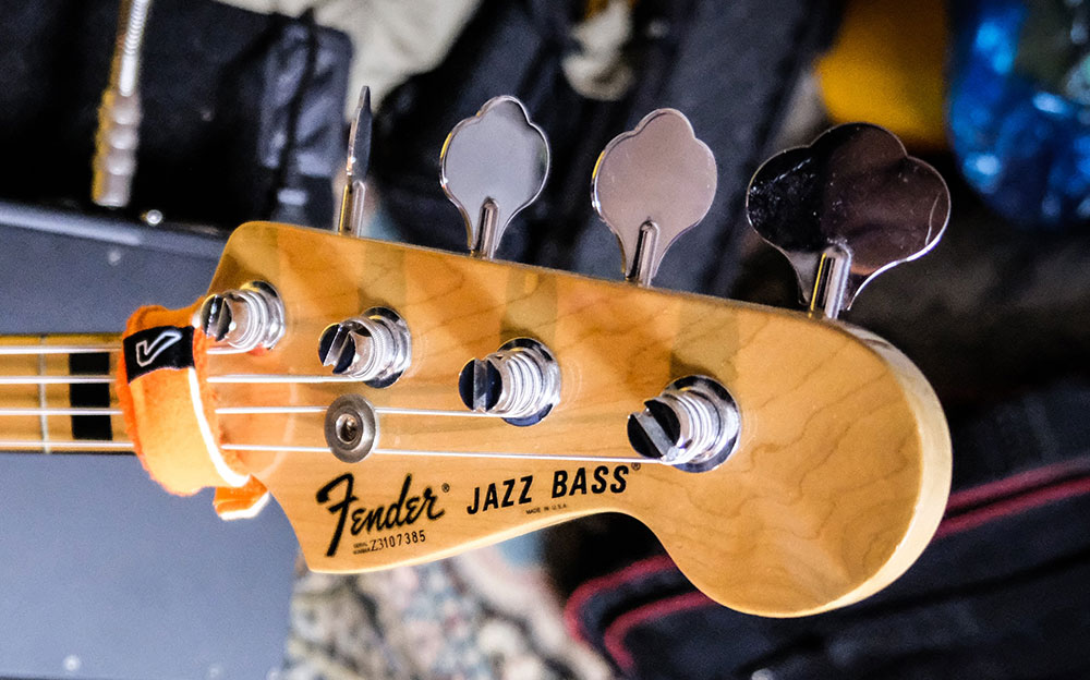 ジャズベースのヘッド