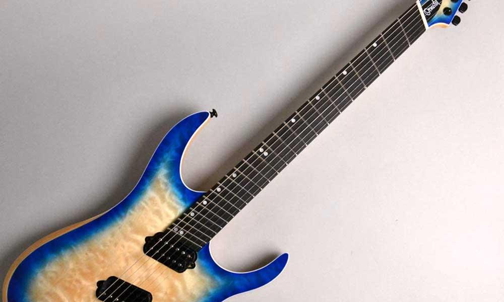 ファンフレットギター Ormsby Guitars HYPE G6 QMSA