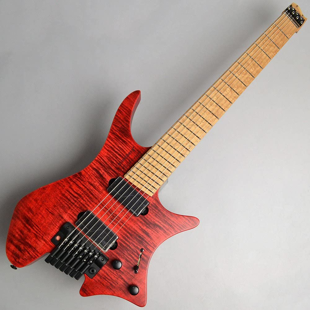 Strandberg Boden Original 7 Tremolo:Red:Fishman Fluence