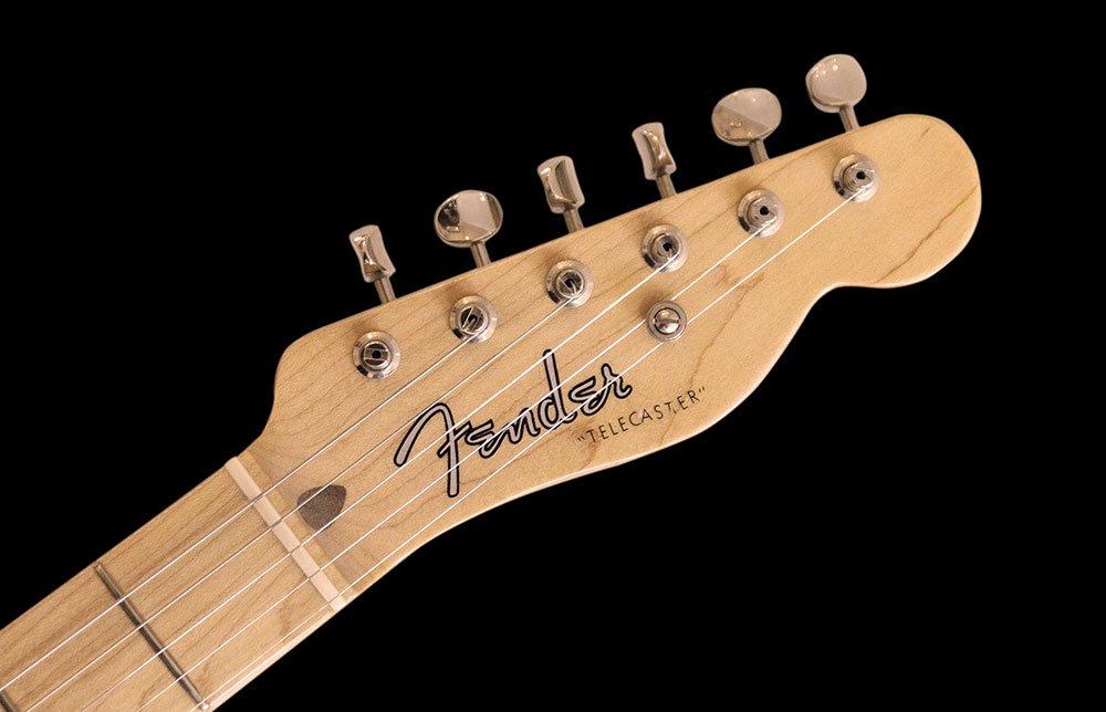 フェンダー社のギター・テレキャスターのヘッド