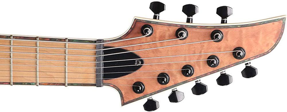 ZUWEIの8弦ギターのヘッド