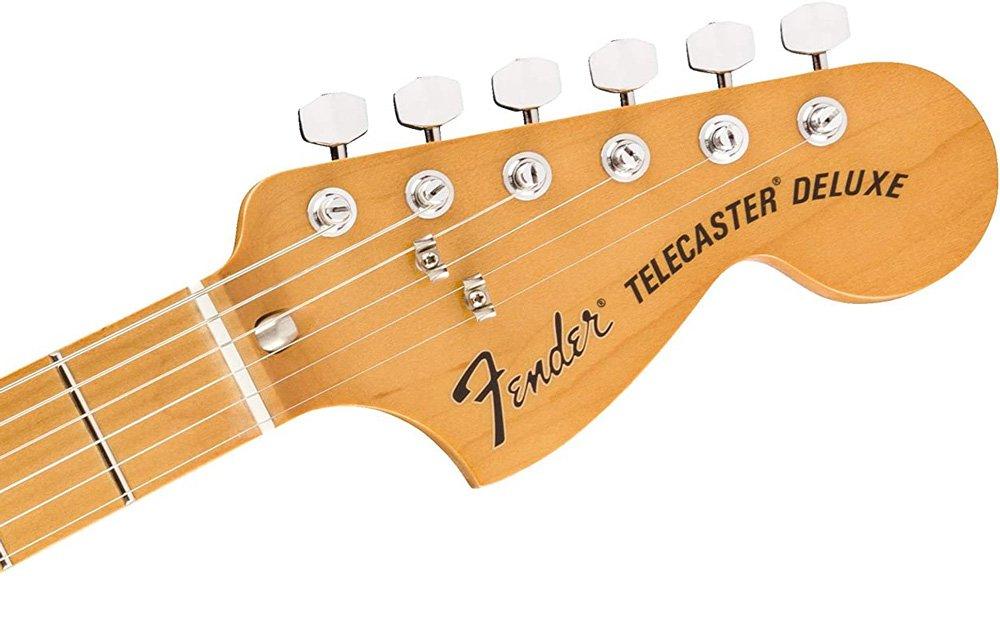 Fender Telecaster deluxeのヘッドストック