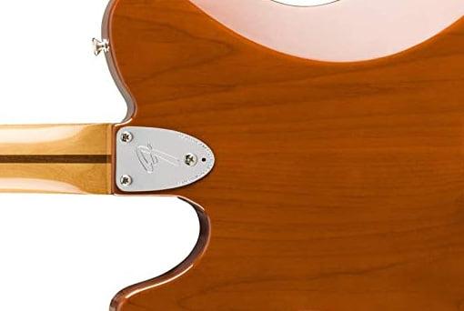 Fender Telecaster Deluxeの3点止めネックプレート