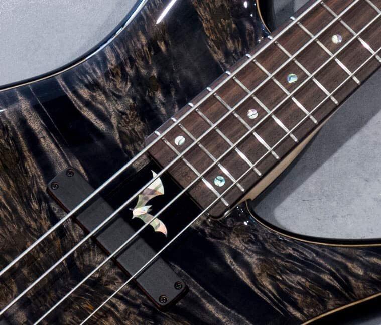 Sugi Guitars NB4IR POP/ASH2P/BSBK