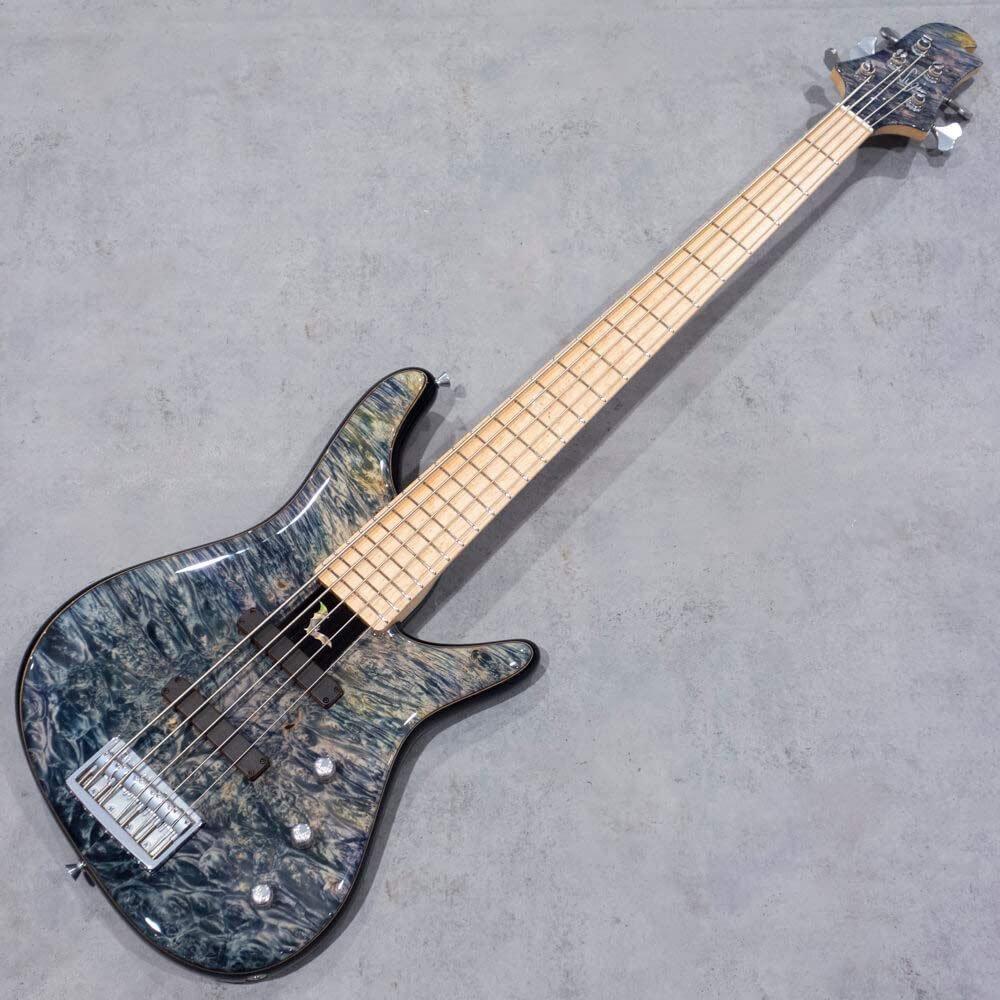 "Sugi Guitars NB5M BM-PRM/ASH/Moon-bat Inlay/PLB""Luthier's Show Model"