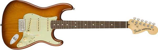 Fenderのハニーバースト