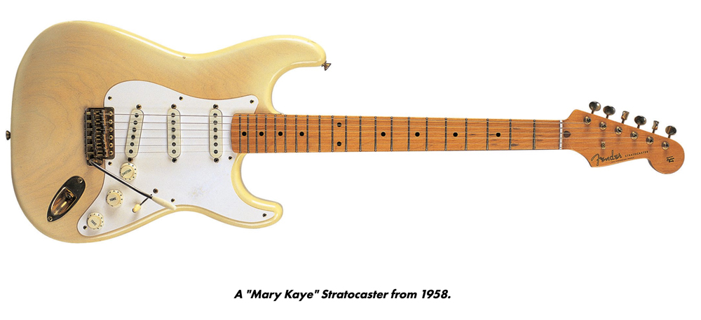 """A """"Mary Kaye"""" Stratocaster from 1958"""